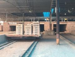 福建某砖瓦厂脱硫塔施工现场